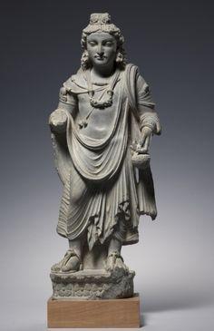 Maitreya, c. 3rd Century Pakistan, Gandhara, Kushan Period (1st century-320)