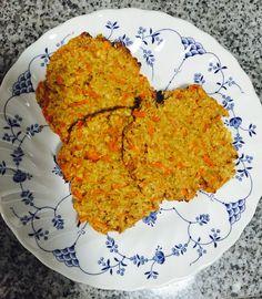 Galletones avena-zanahoria-coco veganas