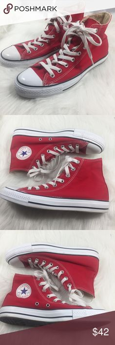 df72bb5d2b6a5 CONVERSE Chuck Taylor All Star High Top Canvas CONVERSE Chuck Taylor All  Star High Top Red