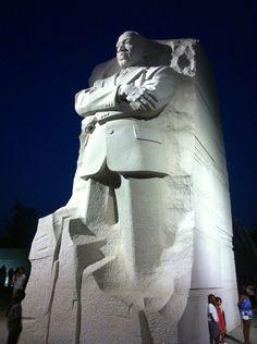 MARTIN LUTHER KING JR., MEMORIAL at WEST POTOMAC PARK in WASHINGTON D.C. USA