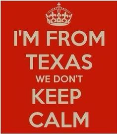 It's all Texas, all the time!