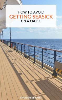 While there are no guarantees that you will not get seasick though, this article will cover a few tips for making sure you can keep your composure on the high seas and enjoy every minute of your vacation.