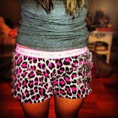 Boxer shorts for girls .