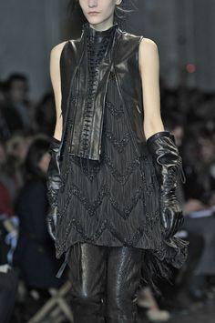 Ann Demeulemeester F/W 2011 (Vest & gloves!)