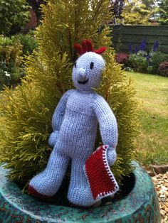 Knitting Pattern Iggle Piggle : Knitted Iggle Piggle Knitting Pinterest