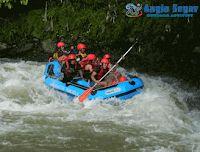 arung jeram bogor sungai cianteun Bogor, Rafting