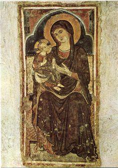 Massafra (TA) - Madonna della Buona Nuova presso il Santuario della  Madonna della Scala (cartolina)