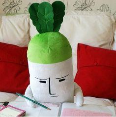 Soft Plush Aokubi Daikon Radish Toy Who wouldn't need one?!