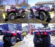 This #Honda Fourtrax Rancher ES 4X4 trx420te #Four_Wheeler is brand new ATV with only 1729 miles, The 2003 FourTrax Rancher 4x4 ES with Honda's revolutionary Electric Shift Program is a full-sized 4WD ATV--designed for the rider who demands Honda's legendary innovation.This is 4 wheels FUN! The Snow plow up front makes this a 4 season workhorse. You can boon this ATV by All Star Cycle Sales for just $4995 in Marlborough, MA, USA at Used-AtvTrader.Com