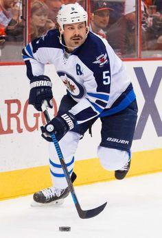 Winnipeg Jets' Mark Stuart