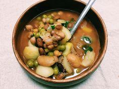 Vegan comfort soup