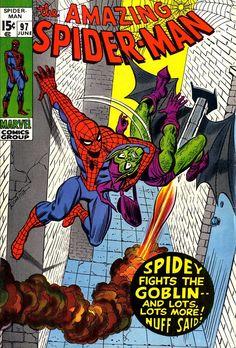 The Amazing Spider-Man 97, June 1971, cover by John Romita