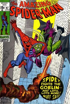 The Amazing Spider-Man 97, June 1971, cover by John Romita