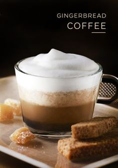 This coffee and gingerbread pairing is the perfect solution to a cold winter's night. Snuggle up with a warm cup of Roma Grand Cru and enjoy the spicy flavors of cinnamon and ginger in this easy recipe. Top your gingerbread with a sprinkling of sugar to balance out the bold intensity of the espresso.