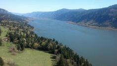 Oregon, Columbia River Gorge (view from Cape Horn) HWY 47