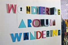 An inside look at Mike Perry's new temporary art space, Wondering Around Wandering | The Fox Is Black