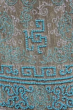 A chinoiserie beaded evening dress, circa 1923, - by Kerry Taylor Auctions
