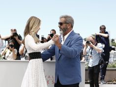 Erin Moriarty, Mel Gibson (Blood Father) |.| Cannes 2016