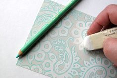 Traced doodling images-Splitcoaststampers - Tutorials