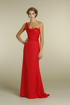 Gorg Jim Hjelm bridesmaid dress. I would never do this color but it sure is pretty.