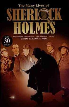 This collection so movies, television episodes, and radio shows featuring the celebrated fictional detective Sherlock Holmes includes four of the movies featuring Basil Rathbone - TERROR BY NIGHT, DRE