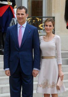 Queen Letizia Photos: King Felipe VI Visits France