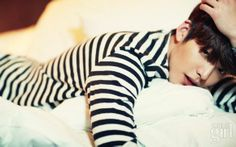 Kim Woo Bin is a Introspective Lonely Boy for Vogue Korea January Edition   A Koala's Playground