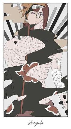 Akatsuki - Pain Nagato So realistic) Naruto Wallpaper, Wallpapers Naruto, Wallpaper Naruto Shippuden, Animes Wallpapers, Itachi Uchiha, Naruto Shippuden Sasuke, Yahiko Naruto, Gaara, Anime Naruto