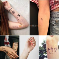 Small Tattoos • Small Tattoos for Women • Small Tattoos for Men • Minimalistic Tattoo | Explore more Small Tattoos Ideas on https://positivefox.com