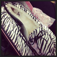 Zebra Print<3 I have these in dark brown but I love the zebra print