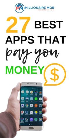 27 Apps that Pay You Real Money (Make Easy Money Online!) 27 Apps that Pay You Real Money (Make Easy Money Online!),Passive Income Apps That Pay Your Real Money to Start a Side Hustle:. Make Easy Money Online, Best Money Making Apps, Earn Money Online, Make Money Blogging, Online Jobs, Online College, Make Money From Internet, Online Survey, Blogging Ideas