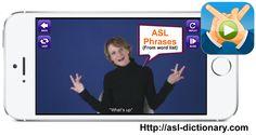 ASL Translator App. ASL Phrases.