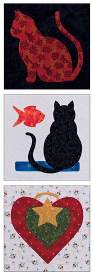 ~ Martingale - Easy Appliqué Blocks eBook eBook - cute cat blocks