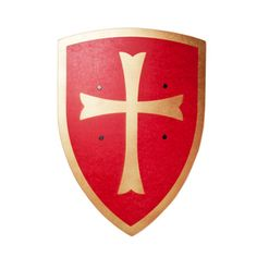 Knights shield red - For dress up.