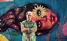 Panmela Castro Street Artists, Painting, Artist At Work, Painting Art, Paintings, Painted Canvas, Drawings