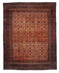 Doroksh carpet C. 1900 Sotheby's lot 55