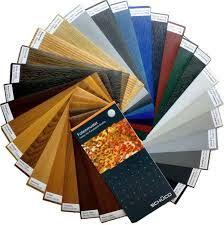 la nostra vastissima gamma di colori