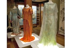 Re-creations of Fortuny designs in paper by Isabelle de Borchgrave