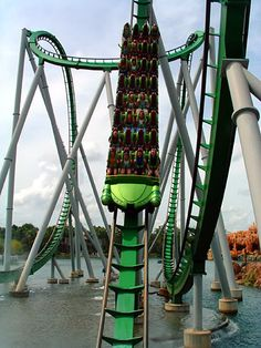Hulk ride Universal, Florida, my favourite roller coaster ahhhhhhh can't believe I will be riding this