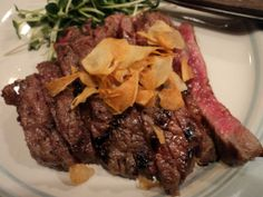 Kobe beef: the most expensive beef in the world.