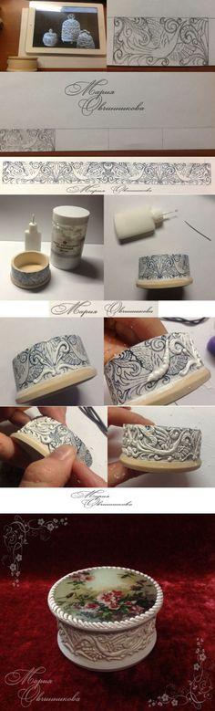 pasta de textura o imitación de hueso tallado. MK