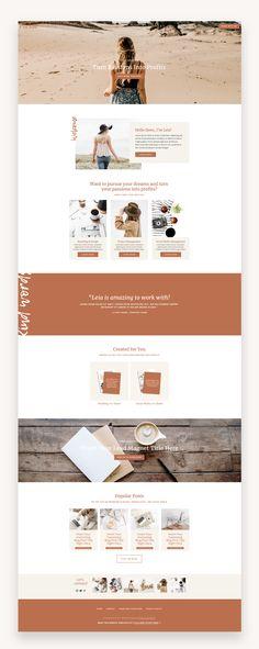 Squarespace Template Kit: Pursue The Pursue Squarespace Template Kit is for blo Website Design Inspiration, Blog Design, Design Web, Design Ideas, Website Layout, Website Ideas, Website Designs, Web Layout, Layout Design