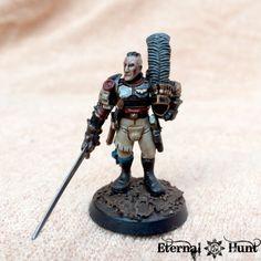 Warhammer 40k Figures, Warhammer Art, Warhammer Models, Warhammer 40k Miniatures, Warhammer Fantasy, Warhammer 40000, Guardia Imperial 40k, Warhammer Inquisitor, 40k Armies