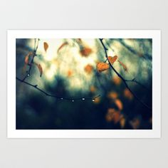 Hunging Art Print by Annie Japaud   - $18.72