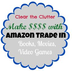 Use the Amazon Trade in program to get $$ back on books, movies, and video games.  Amazon even pays the shipping cost!