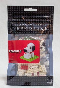 Snoopy Peanuts Kawada Nanoblock Nano Block JAPAN FIGURE #Nanoblock
