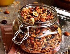 Receita de granola de castanhas   Receitas Light