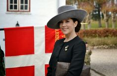 Queens & Princesses - Princess Mary attended the commemoration of the 75th anniversary of the beginning of the occupation of the city of Aabenraa during World War II.