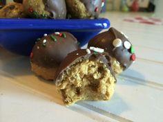 Crispy Crunchy Peanut Butter Balls - Reasons To Skip The Housework