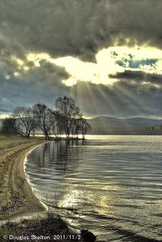 Sunburst over Loch Rannoch